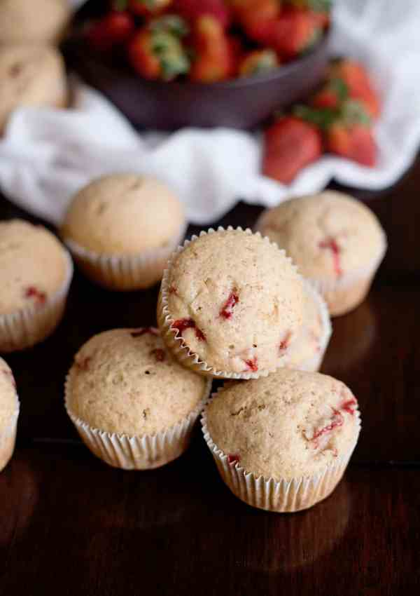 Fresh Strawberry Muffin Recipe – May is National Strawberry Month!