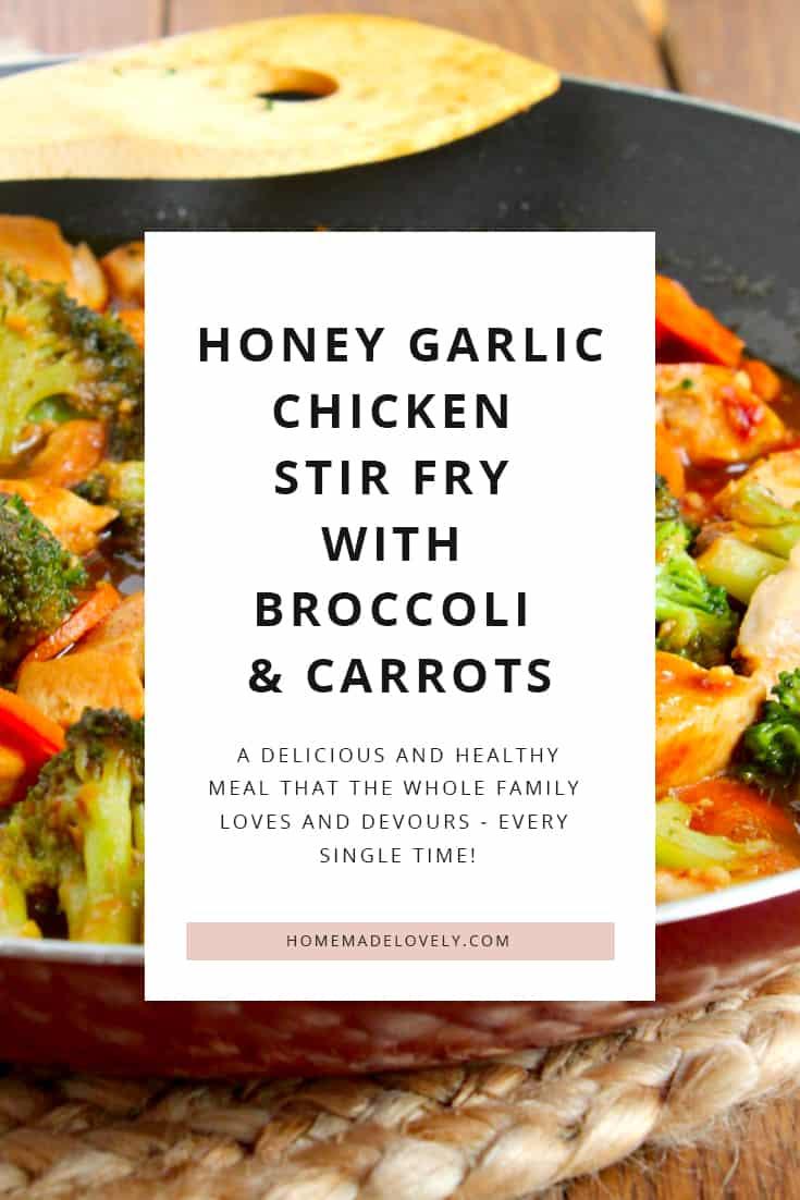 honey garlic stir fry