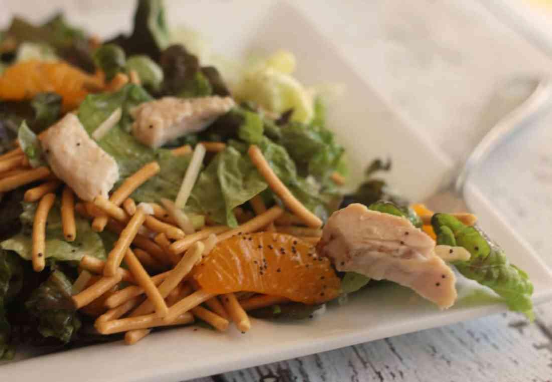 Homemade Mandarin Chicken Salad