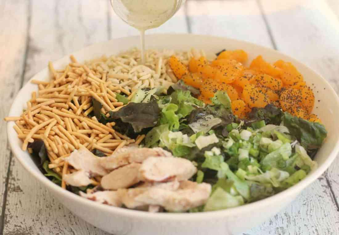 Mandarin Salad - Prep 4