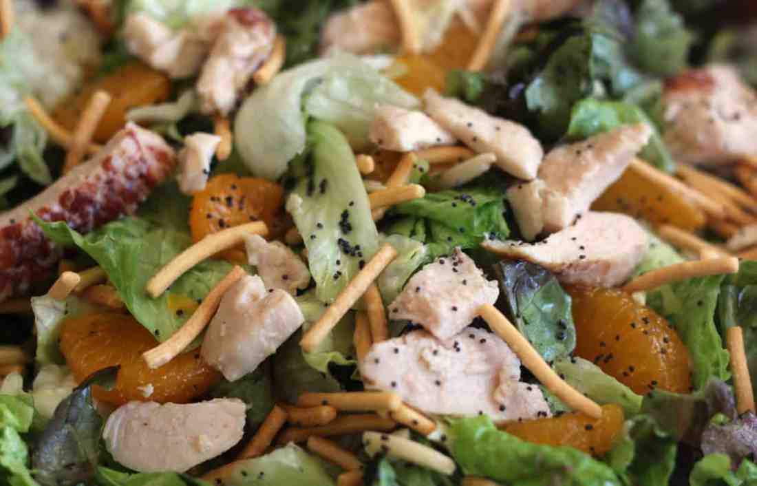 The Best Mandarin Chicken Salad Recipe