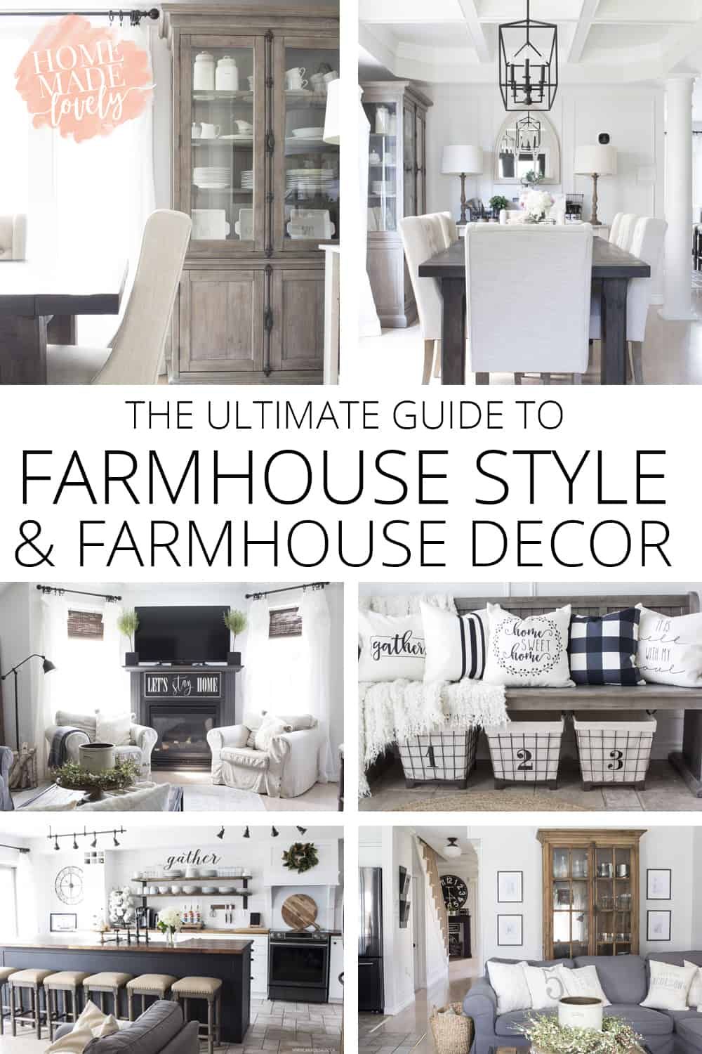 farmhouse style and decor