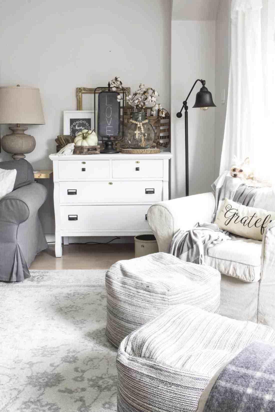 corner dresser for fall