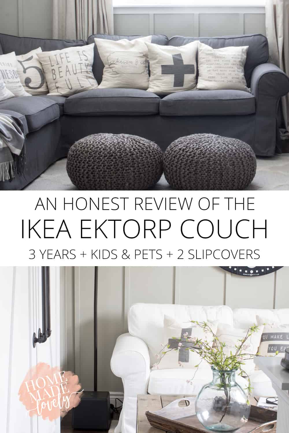 An Honest Review Of The Ikea Ektorp Couch After 3 Years