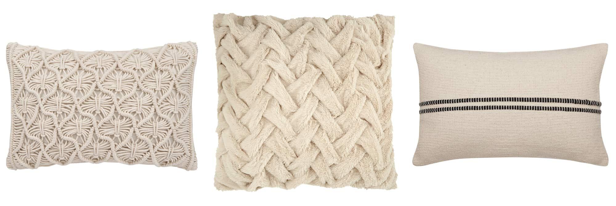 boho farmhouse style throw pillows