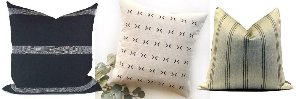 more throw pillows