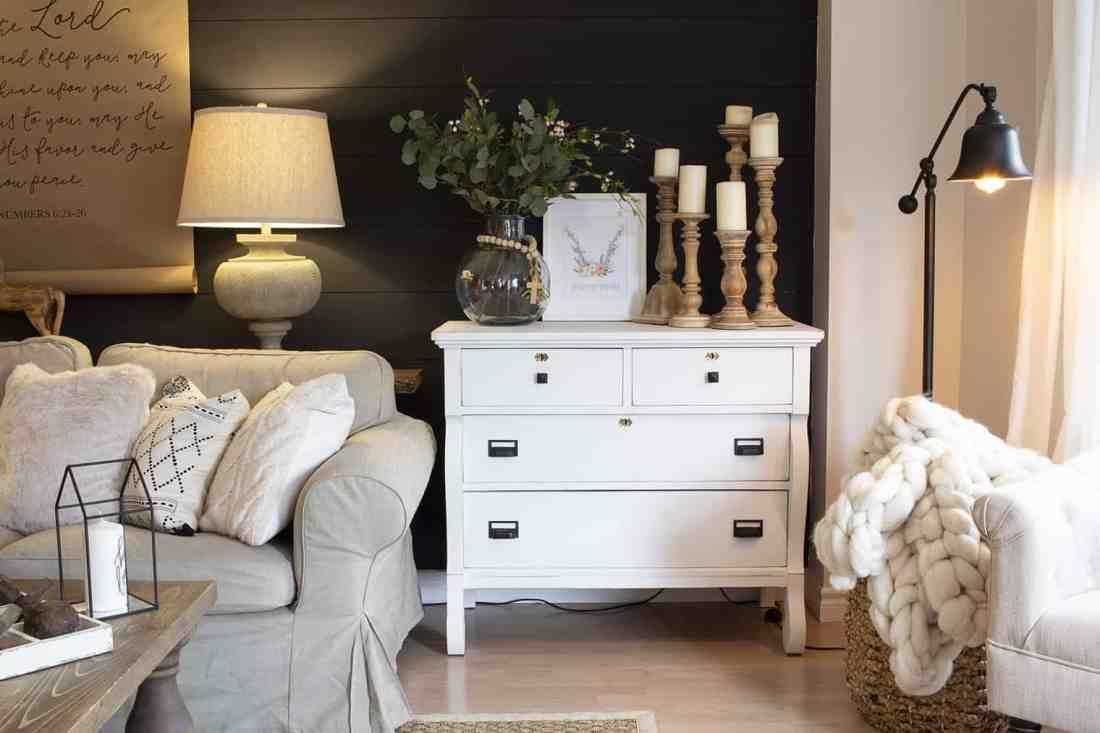 Spring Living Room Free Printable