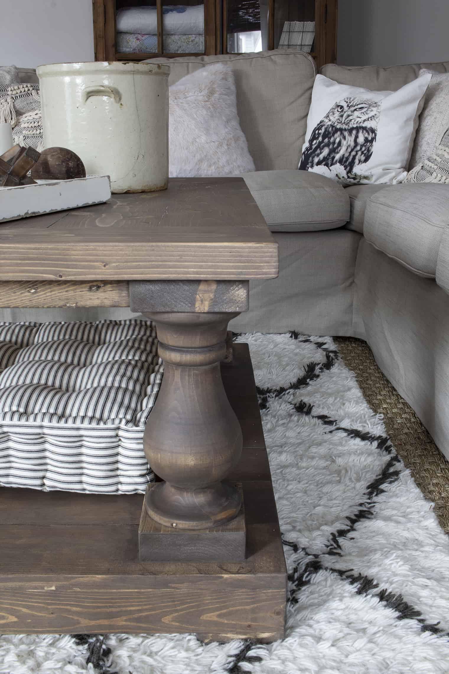 diy balustrade coffee table where to