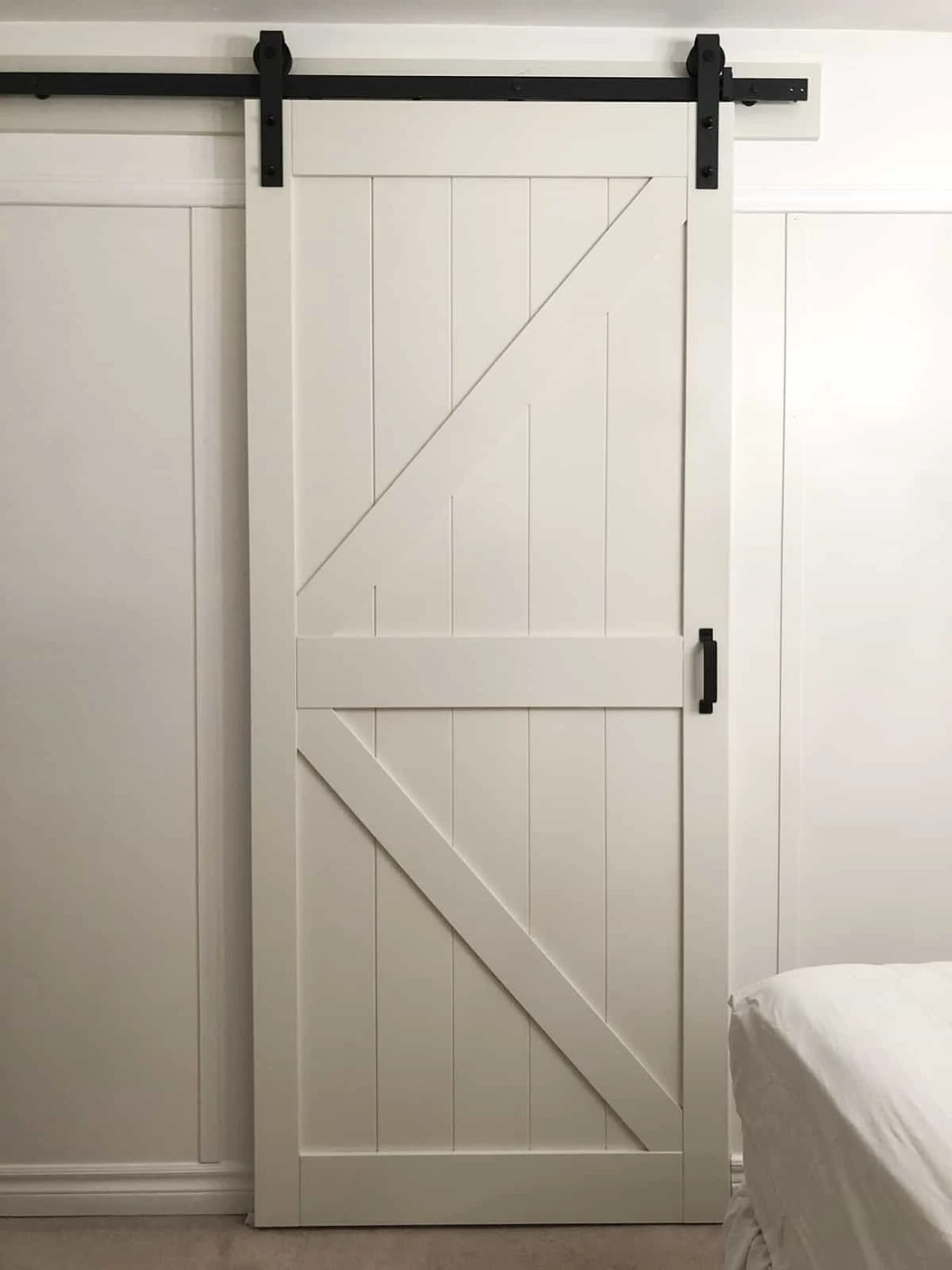Make Space with a Barn Door (Guest Room Makeover Wk 3 of 6)