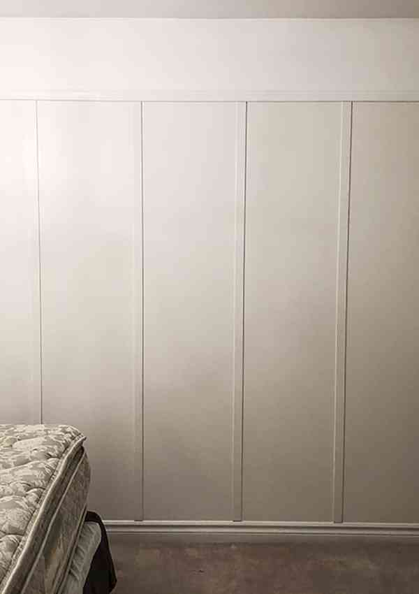 How to Install Faux Board & Batten on a Budget (Guest Room Makeover Wk 2 of 6)