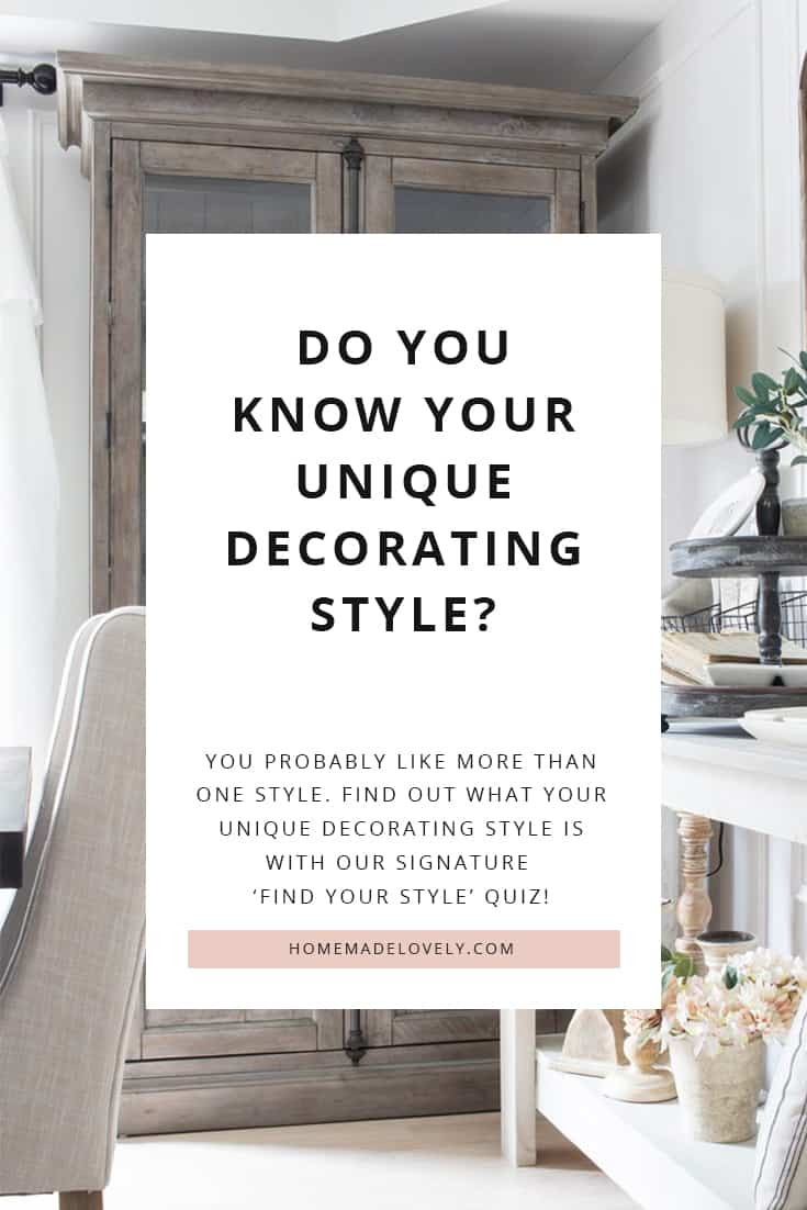 take our decorating style quiz