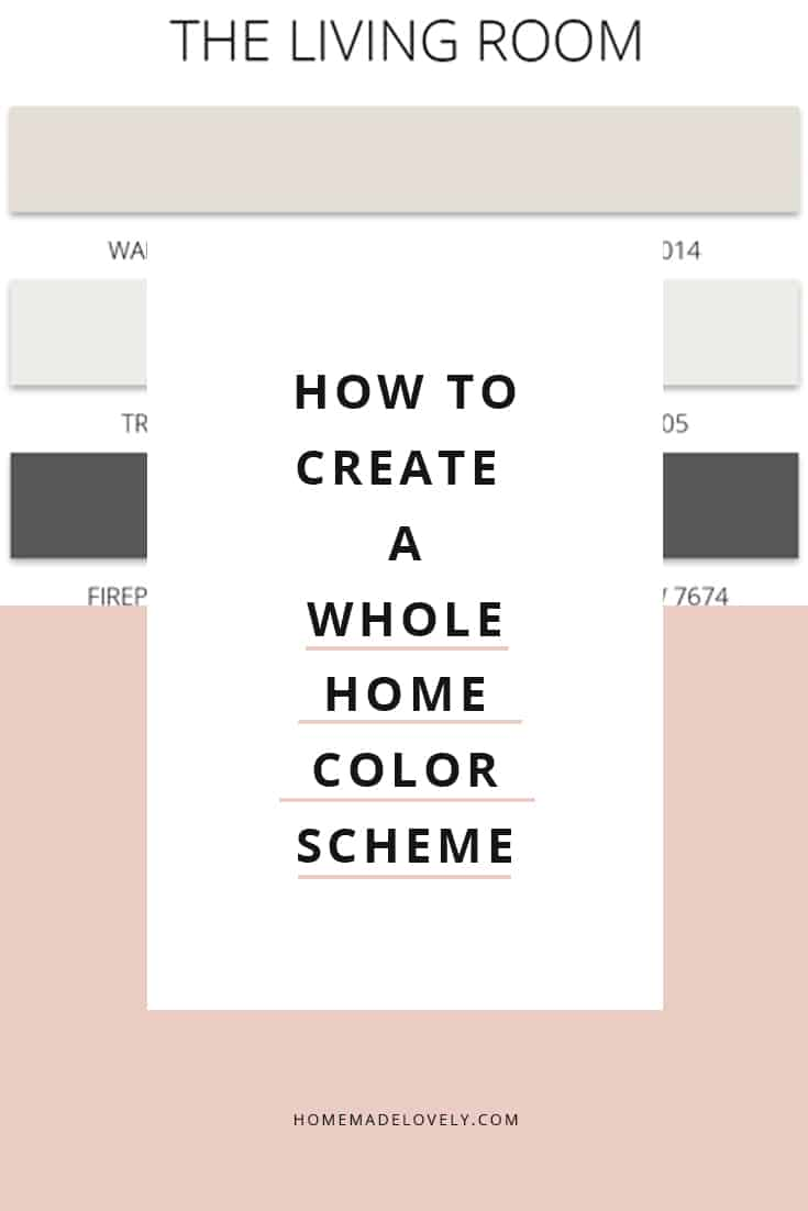 whole home color scheme