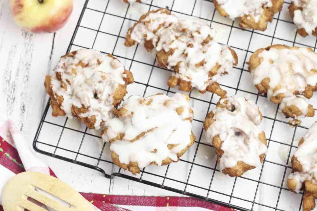 gluten free apple fritters recipe