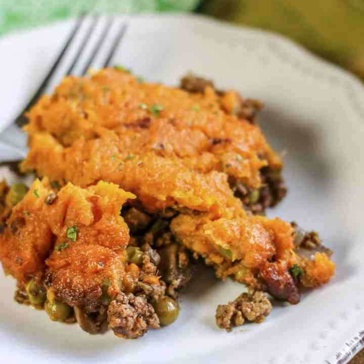 Sweet Potato Shepherd's Pie