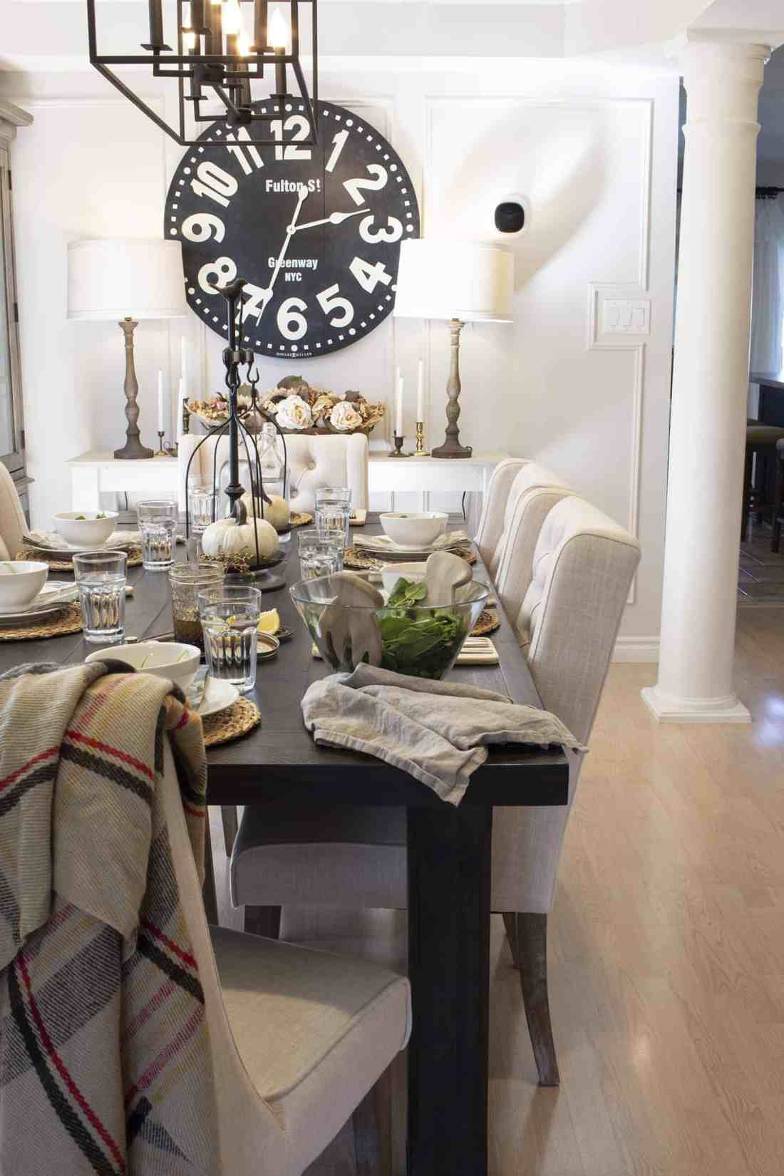 fall 2019 home made lovely dining room