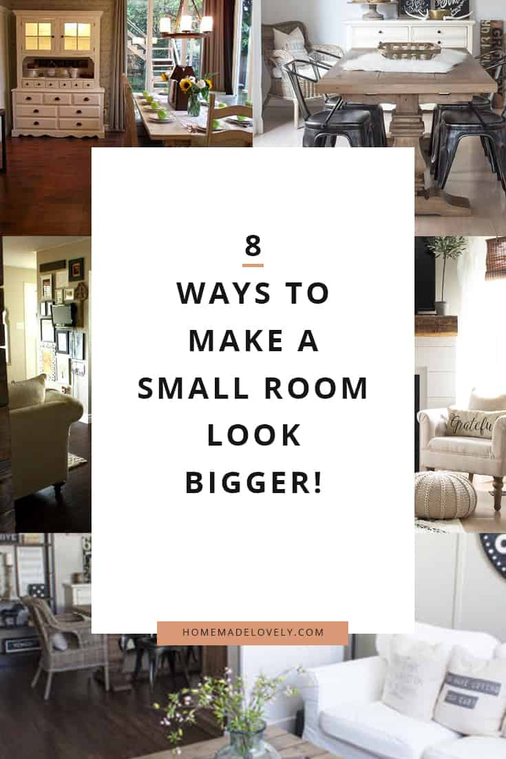 How to make a small room look bigger 8 ideas you can use - How to make a small space look bigger ...
