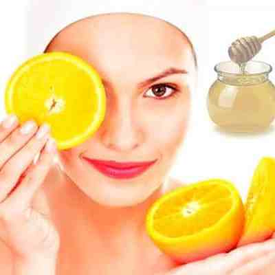 Orange & Honey Face Mask For Normal & Oily Skin