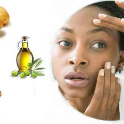 Potato & Honey Face Mask For Dark Circles