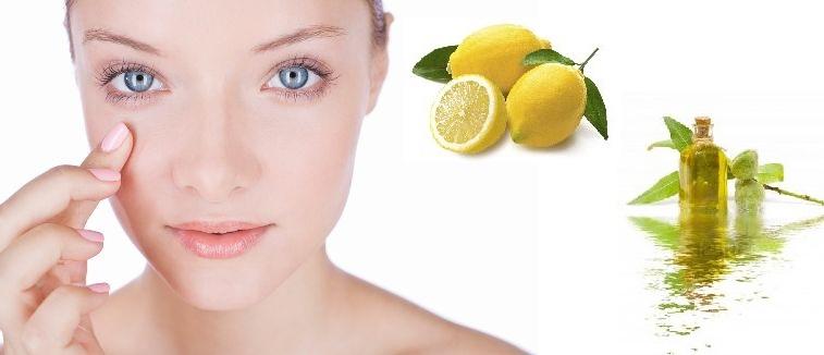 Lemon juice facial mask