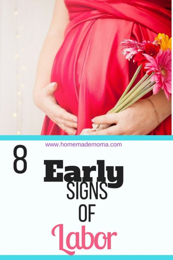 early signs of labor
