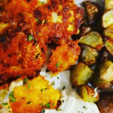 Cheddar Fried Chicken