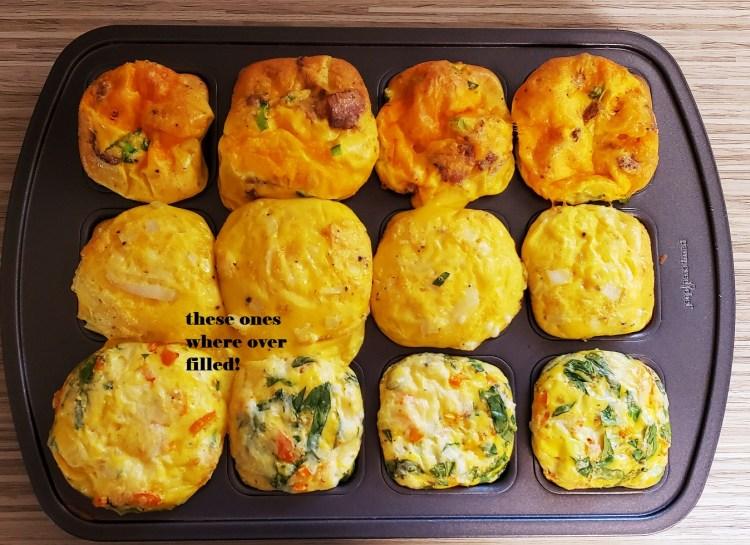 Cooked Egg Bites