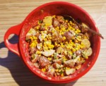 Spicy Potato Corn Salad