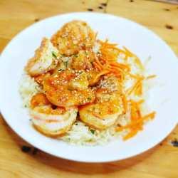 Ginger Lime Shrimp & Rice