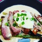 Steak & Asparagus Benedict