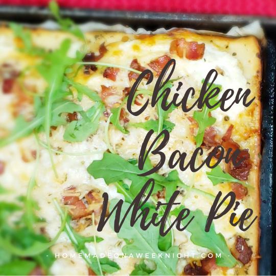 Chicken Bacon White Pie