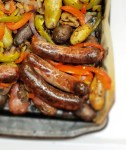 Brats & Spuds Sheet Pan Dinner