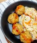 Thai Turkey Meatballs