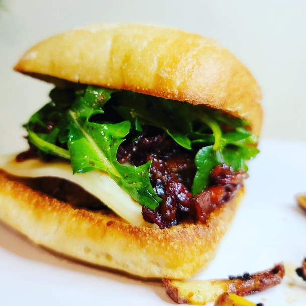 Bourbon Bacon Jam Burger