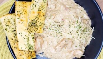 Balsamic Chicken & Rice