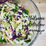 Balsamic Coleslaw