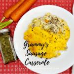 Grammy's Sausage Casserole