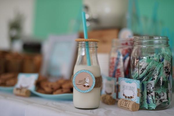 Lucas' Cookies and Milk DIY Party15
