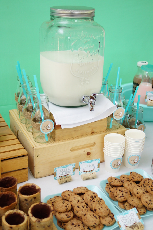 Lucas' Cookies and Milk DIY Party21