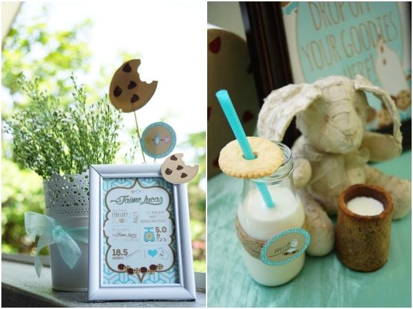 Lucas' Cookies and Milk DIY Party 36