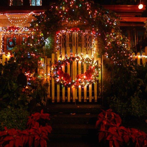 Homemade Parties Christmas House32