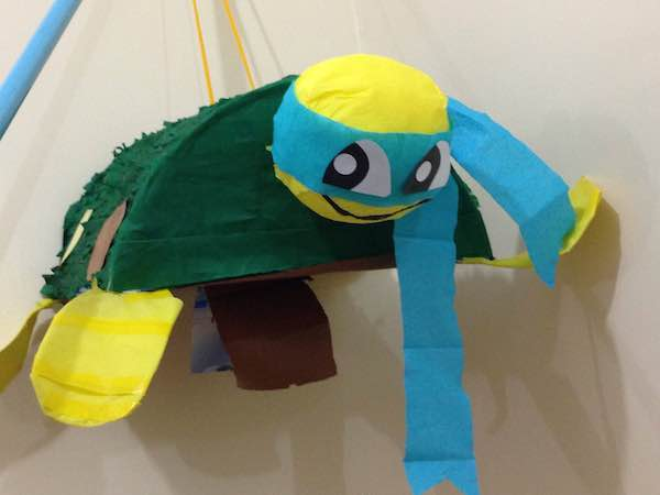 Homemade Parties DIY Party_Teenage Mutant Ninja Turtles Party_Andrei09