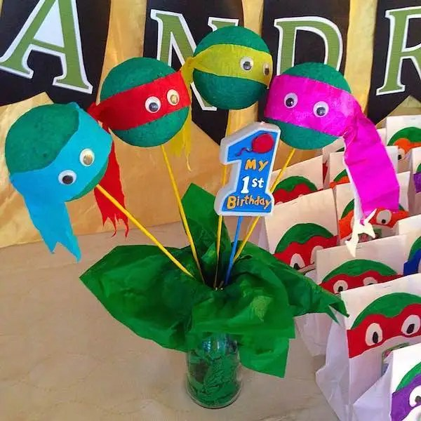 Homemade Parties DIY Party_Teenage Mutant Ninja Turtles Party_Andrei16