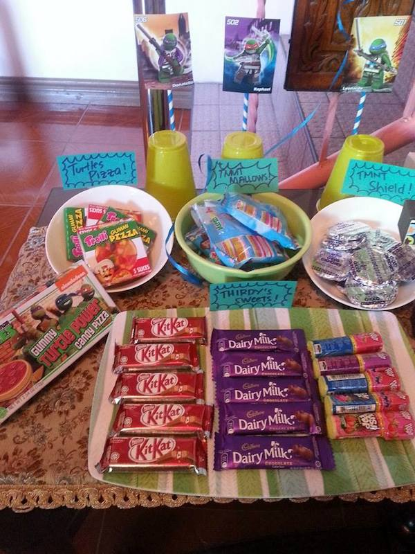 Homemade Parties DIY Party_Teenage Mutant Ninja Turtles Party_Thirdy20