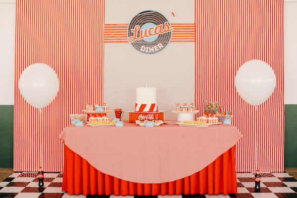 Homemade Parties_DIY Party_50s Diner Party_Lucas08