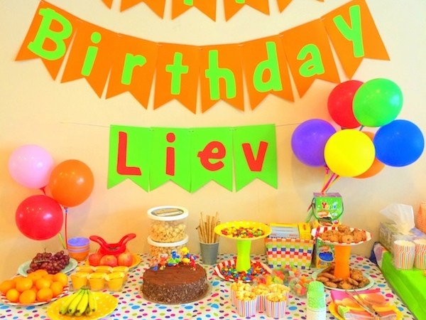 Liev's Sesame Street Party