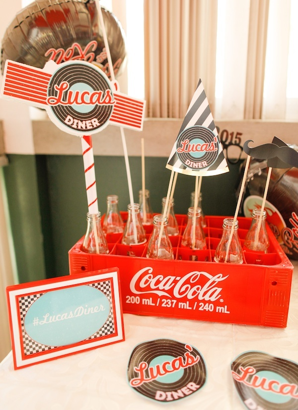 Homemade Parties_DIY Party_50s Diner Party_Lucas64