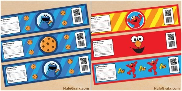 Homemade Parties_DIY Party_Sesame Street Printables00