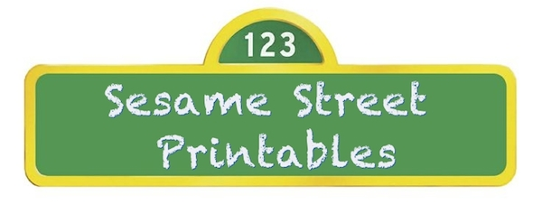 Sesame Street Party Printables