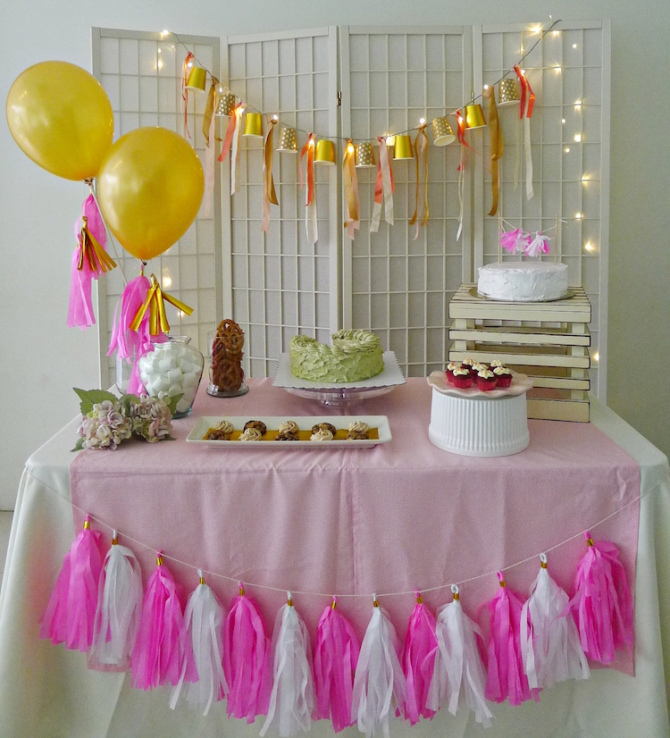 Homemade Parties How to do DIY Dessert Table 06