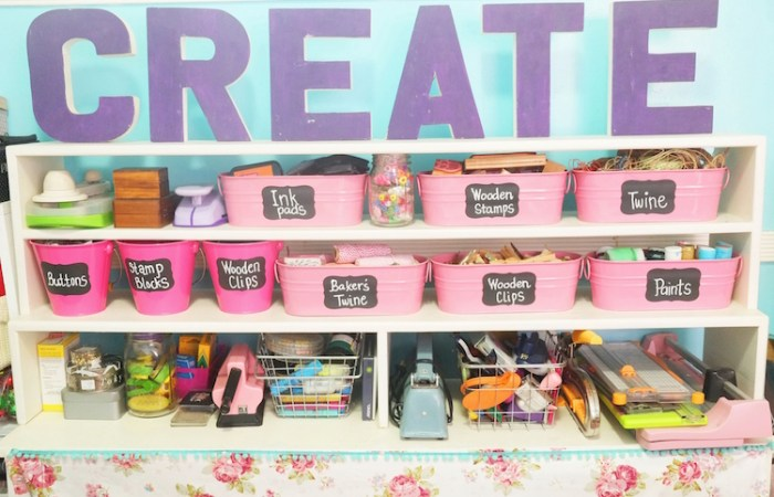 Ask the Pro: Keeping your Craft Space Organized